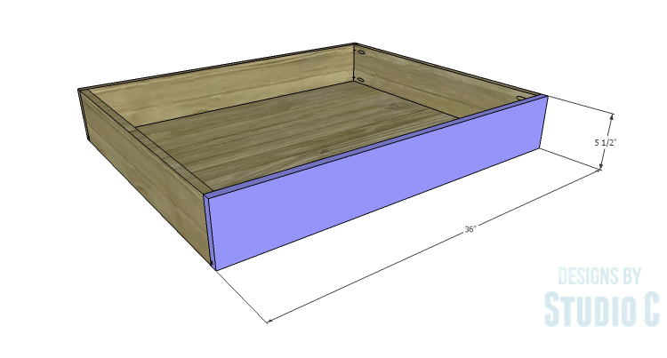 DIY Plans to Build Rolling Under-Bed Storage Boxes_Front  sc 1 st  Designs by Studio C & Easy to Build Storage for a Bedroom |