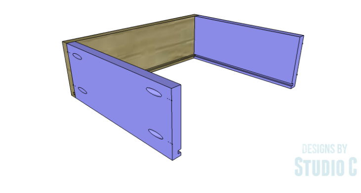 DIY Plans to Build a Carey Kitchen Island_Drawer Box 2
