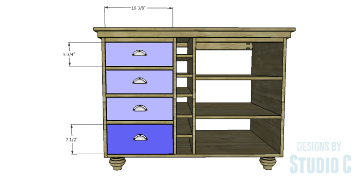 DIY Plans to Build a Carey Kitchen Island_Drawer Fronts 1