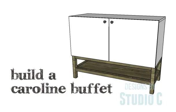 DIY Plans to Build a Caroline Buffet_Copy