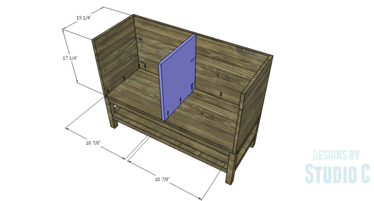 DIY Plans to Build a Caroline Buffet_Divider