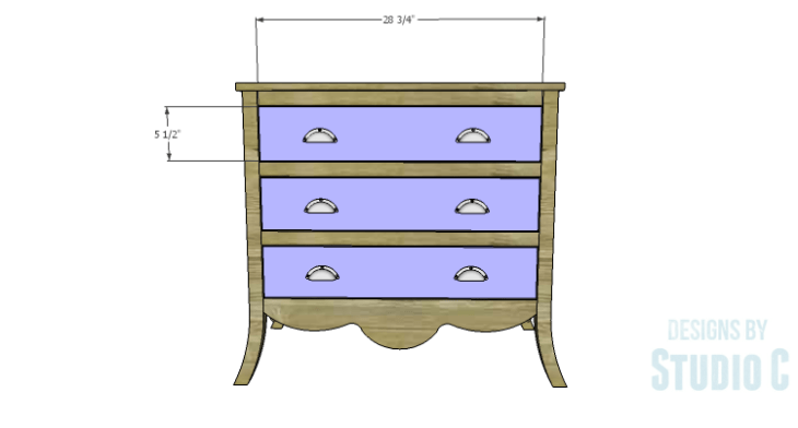 DIY Plans to Build a Celia Dresser_Drawer Fronts