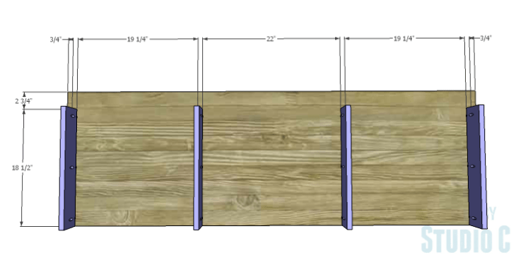 DIY Plans to Build a Mayweather Dresser_Bottom Supports