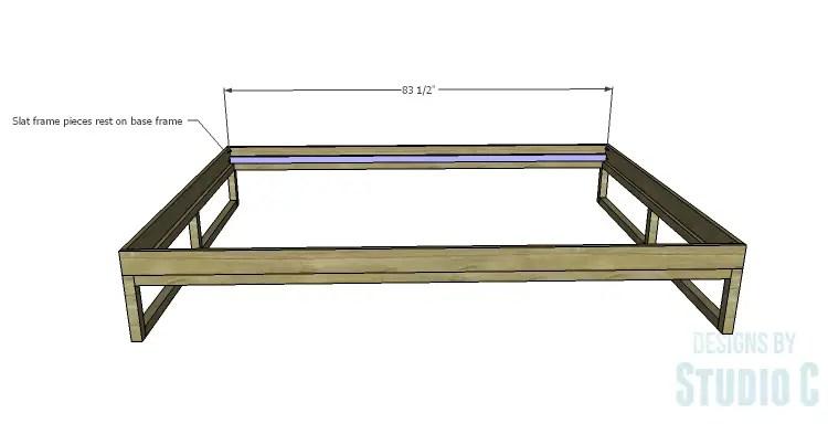 step four. Build A Rustic Platform Bed    Build A Rustic Wooden Headboard
