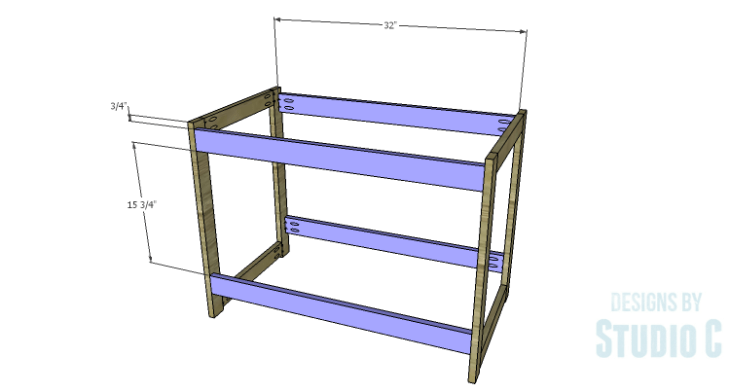 DIY Plans to Build a Versatile Table_Frame Stretchers