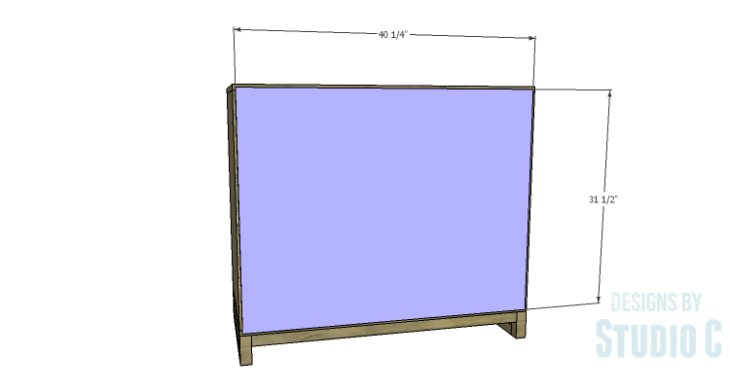 DIY Plans to Build a Carson Cabinet_Back