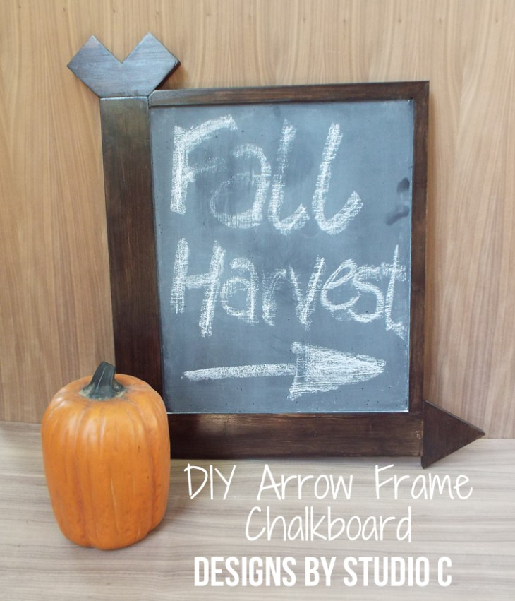 DIY Arrow Frame Chalkboard_Featured