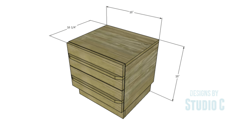 DIY Plans to Build a Mayweather Nightstand