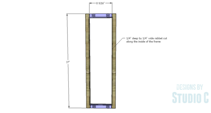 DIY Plans to Build a Coat Cabinet-Doors 1