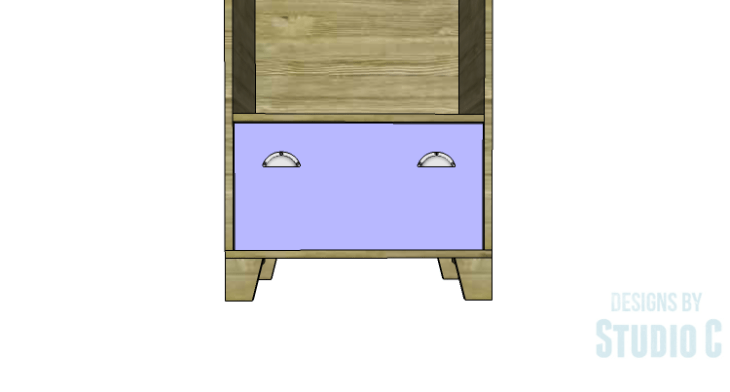 DIY Plans to Build a Coat Cabinet-Drawer Front