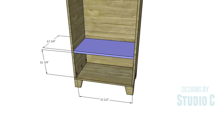 DIY Plans to Build a Coat Cabinet-Shelf