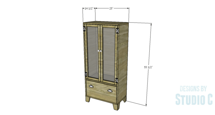 DIY Plans to Build a Coat Cabinet