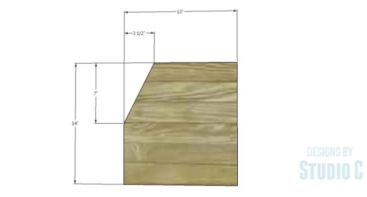 DIY Plans to Build a Cole Nightstand-Sides