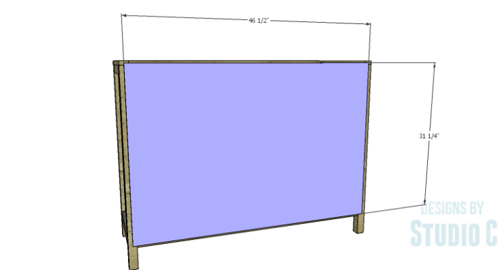 DIY Plans to Build a Simone Sideboard-Back