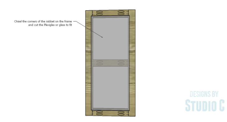 DIY Plans to Build a Tall Cabinet Base-Doors 2