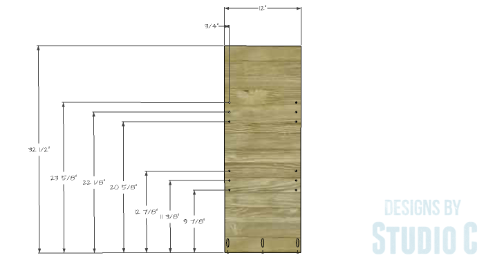 DIY Plans to Build an Ashwin Bookcase-Divider 1