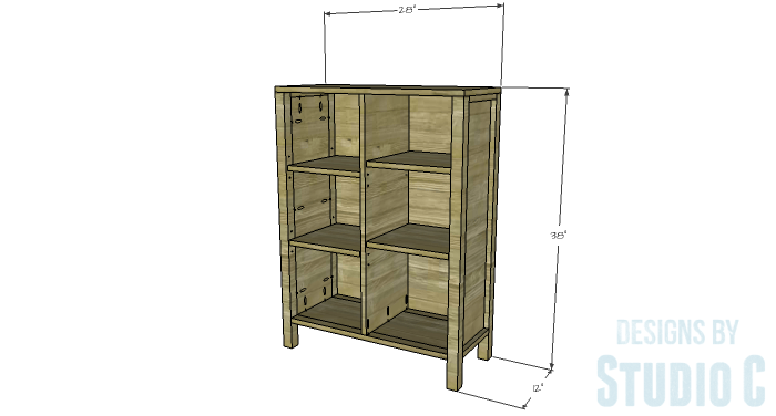 DIY Plans to Build an Ashwin Bookcase