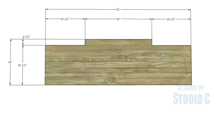 DIY Plans to Build a Brantley Desk-Top 1