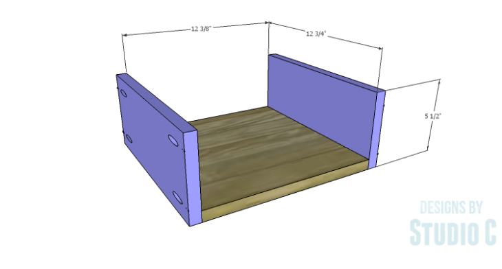DIY Plans to Build a Cate Chest-Drawer 1