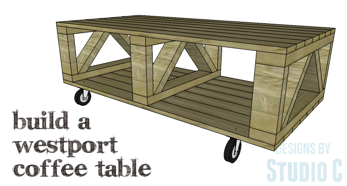 Diy Plans To Build A Westport Coffee Table Copy