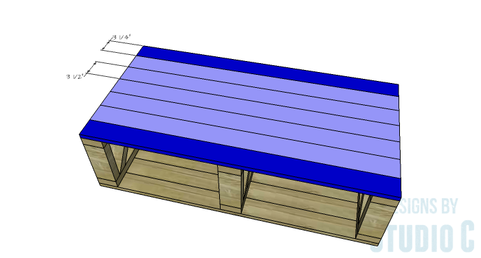 DIY Plans to Build a Westport Coffee Table-Top