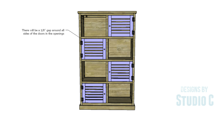 DIY Plans to Build a Woodruff Cabinet-Doors 2