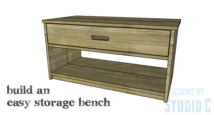 DIY Furniture Plans to Build an Easy Storage Bench-Copy