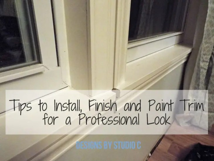 Tips to Install, Finish and Paint Trim and Casing - Featured Image
