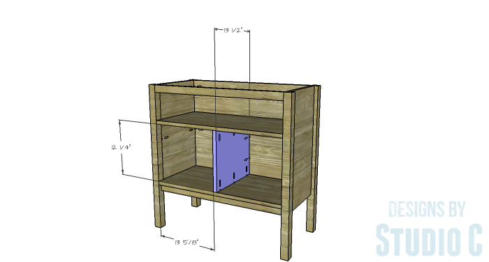 DIY Furniture Plans to Build an Evan Dresser - Divider