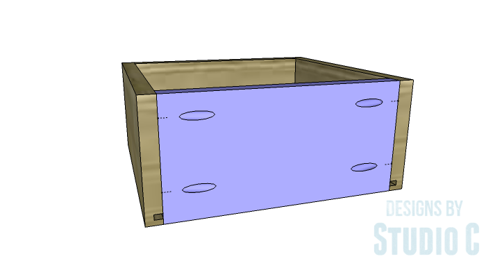 DIY Furniture Plans to Build an Evan Dresser - Small Drawer 4
