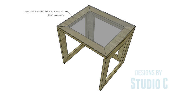 DIY Furniture Plans to Build the Hanover Nesting Tables - Top