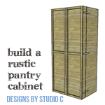 A Large Pantry Cabinet Perfect For Dry Food Storage