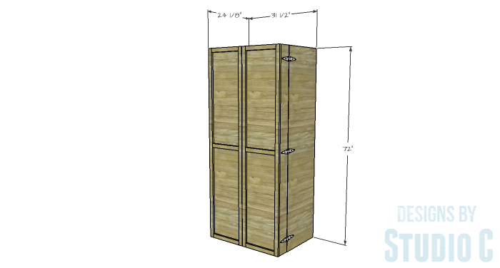 DIY Furniture Plans To Build A Rustic Pantry Cabinet