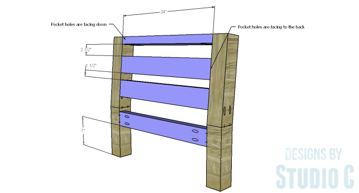 DIY Furniture Plans to Build a Low Slung Chair with Slatted Seat - Back