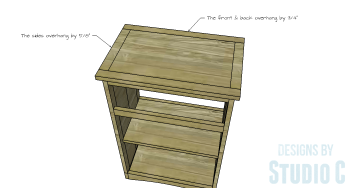 DIY Furniture Plans to Build Ryan's End Table - Top 2
