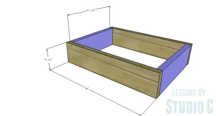 DIY Plans to Build a Vegetable Gathering Basket - Basket Frame