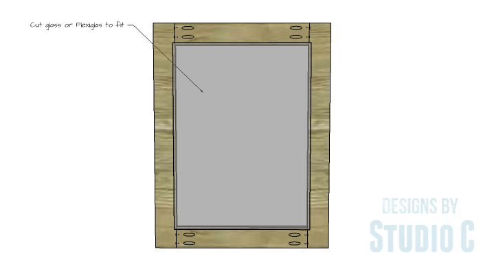 DIY Furniture Plans to Build a Stackable Cabinet - Doors 2