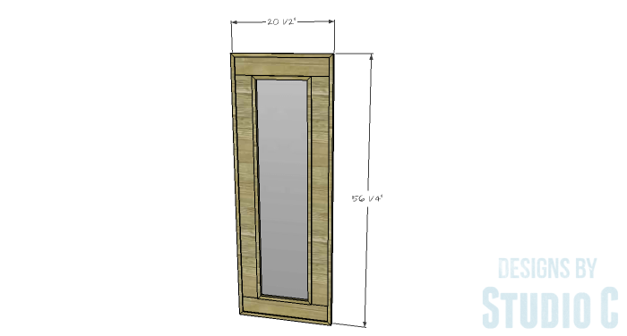 DIY Furniture Plans to Build a Simple Mirror Frame