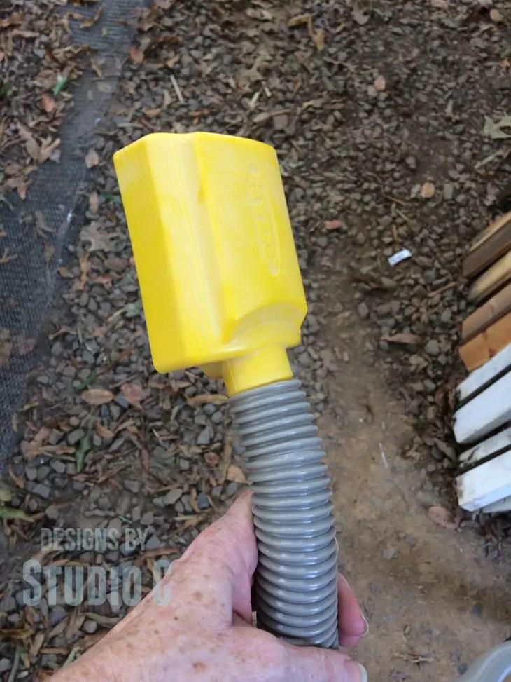sanding-repainting-legs-chair-sander 2