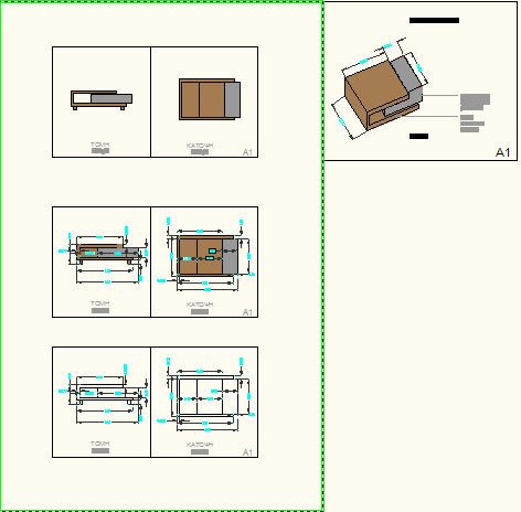 Coffee Table Dwg Detail For Autocad Designs Cad