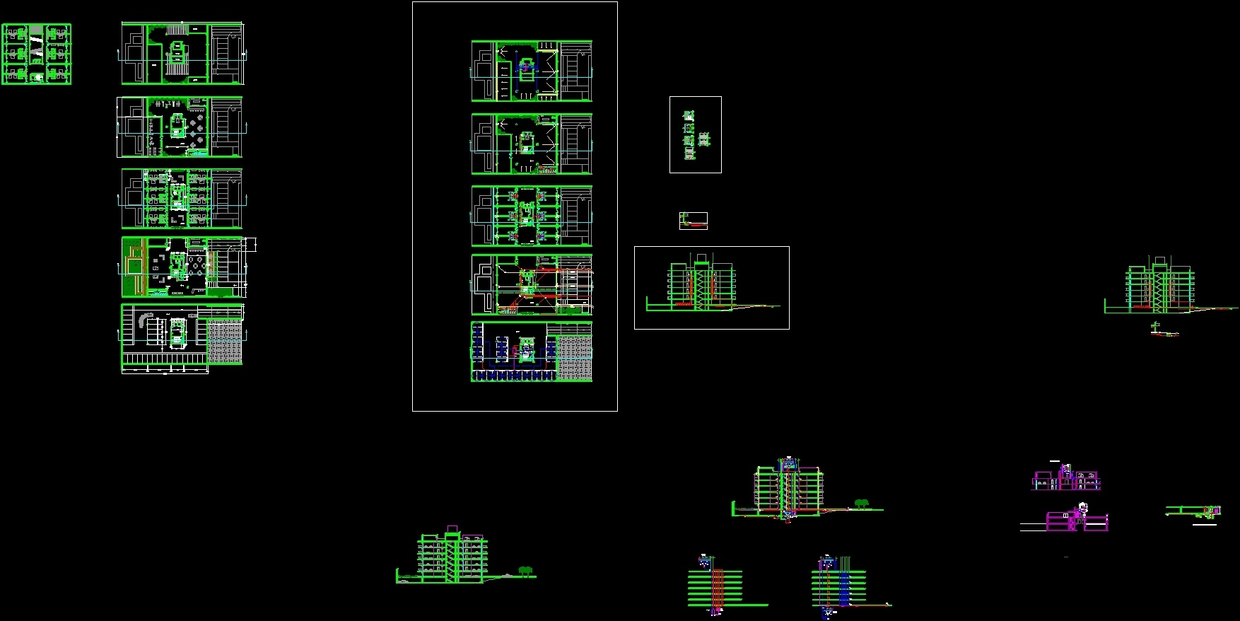 Building Installations Dwg Block For Autocad Designs Cad