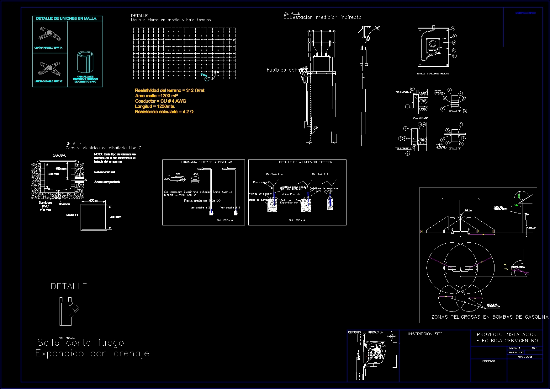 Fuel Station Dwg Full Project For Autocad Designscad