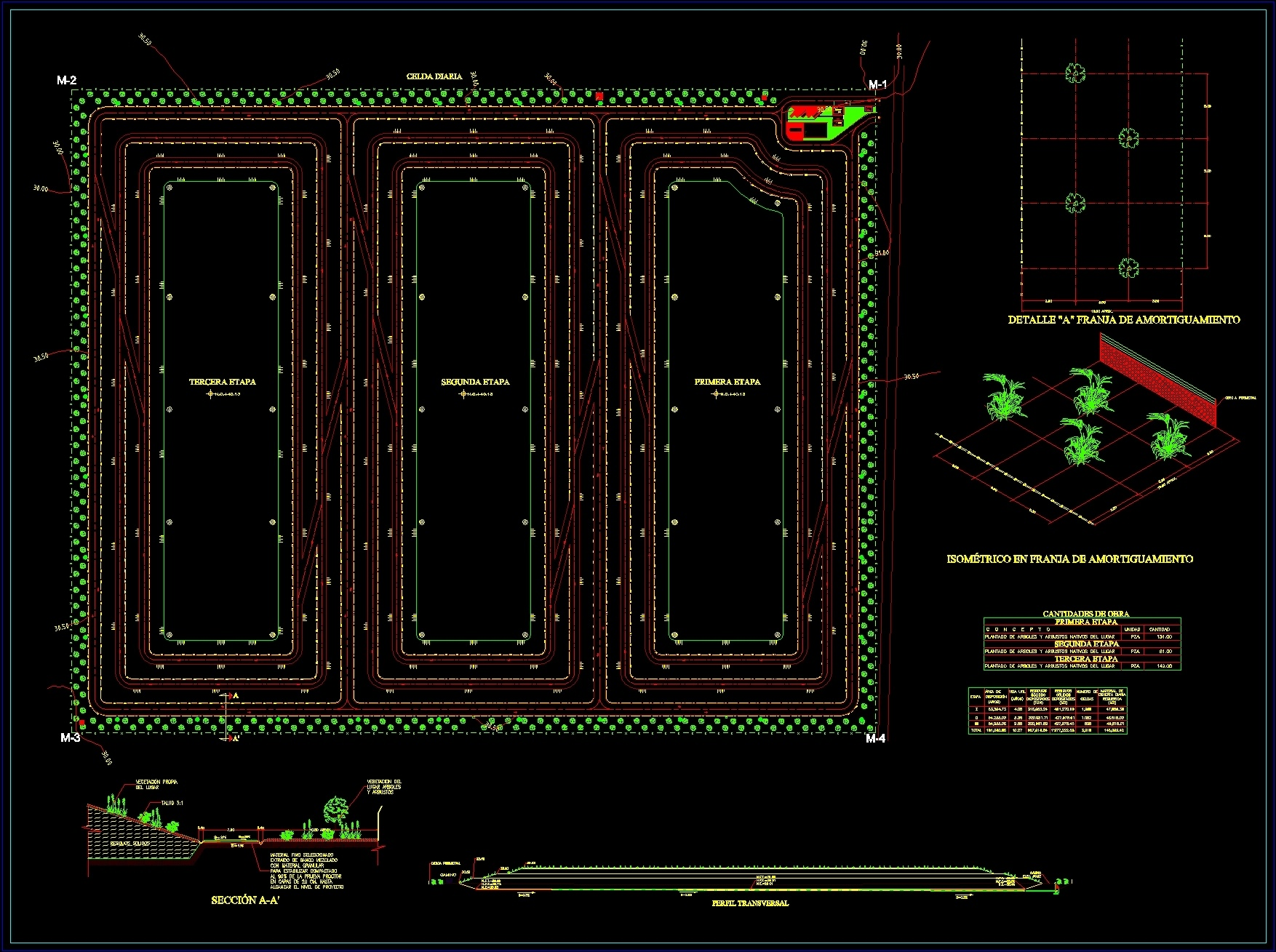 Landfill Dwg Section For Autocad Designscad