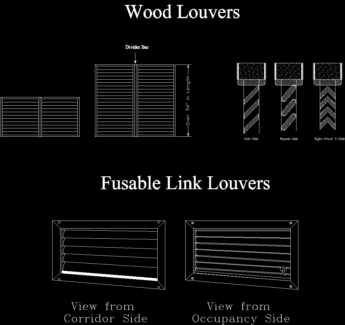 Wood Louvers Details DWG Detail For AutoCAD Designs CAD
