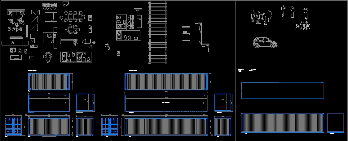 Office Furniture 3d Dwg
