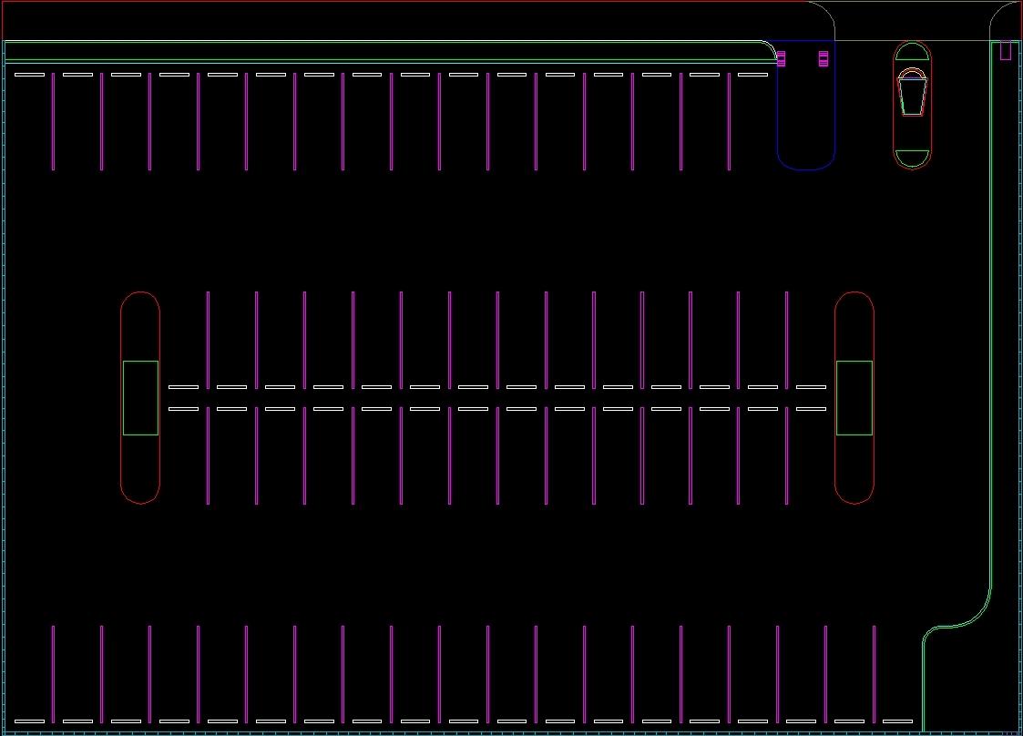 Parking DWG Block For AutoCAD Designs CAD