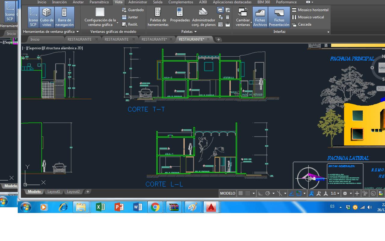 L Shaped Kitchen Plan