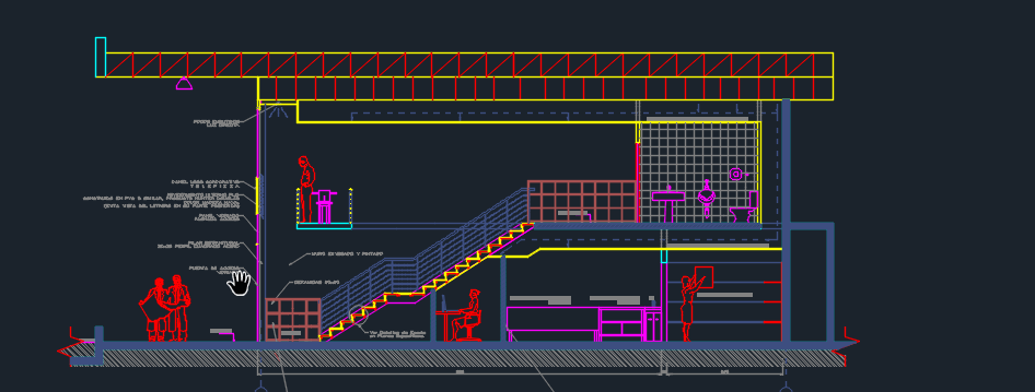 Pizzeria With Floor Plans And Details 2D DWG Design Detail For AutoCAD Designs CAD
