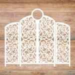 Decoration Screen Laser Cut Template Free Vector