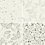 Leaf Pattern Free Vector